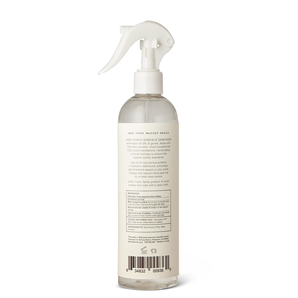 Citrus Surface Sanitizer Spray