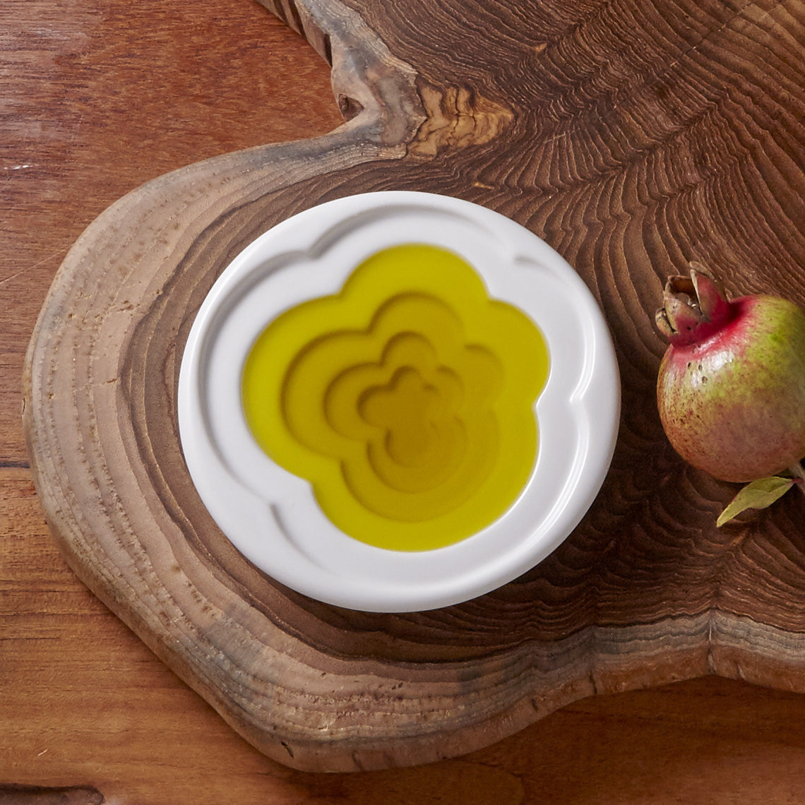 Cloud Olive Oil Dipping Dish