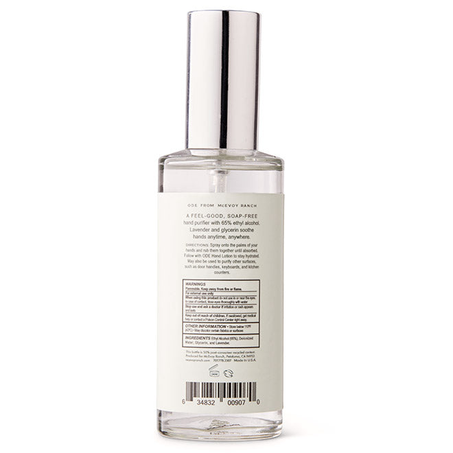 Botanical Hand Sanitizer Spritz 3.7 oz
