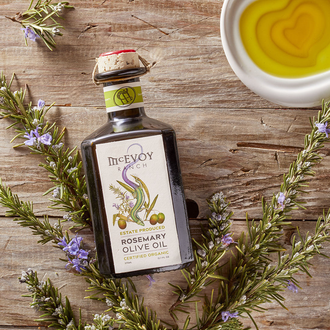 Organic Estate-Produced Rosemary Olive Oil 2019H 375 ml