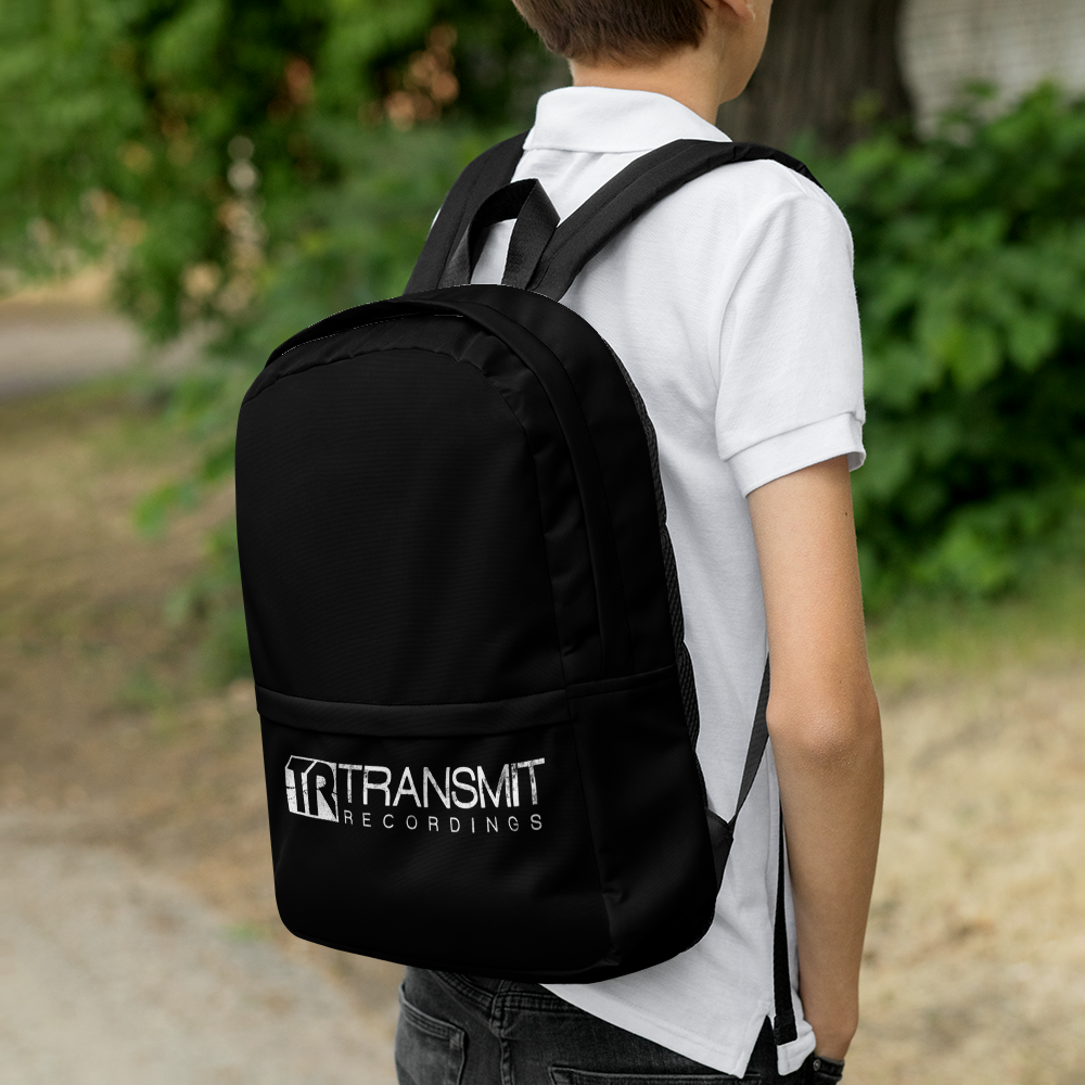 Transmit Recordings Backpack - BeExtra! Apparel & More