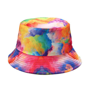 3D Printed Tie-Dye  Bucket Hat