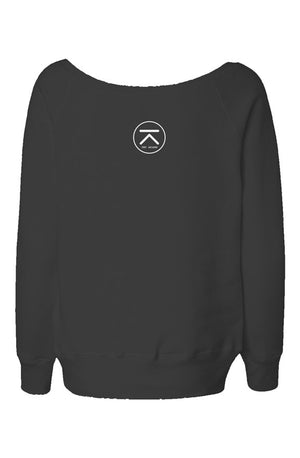 Tony Arzadon Womens Wide Neck Sweatshirt - BeExtra! Apparel & More