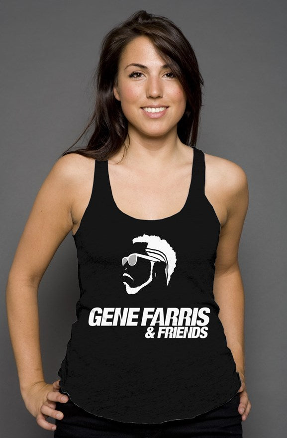 Gene Farris & Friends Racerback Tank - BeExtra! Apparel & More