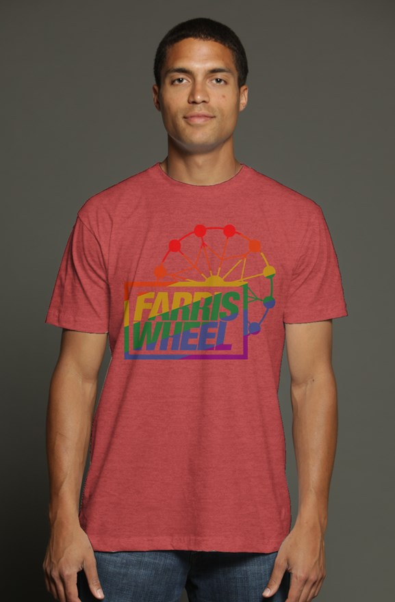 Farris Wheel Pride Triblend T-shirt