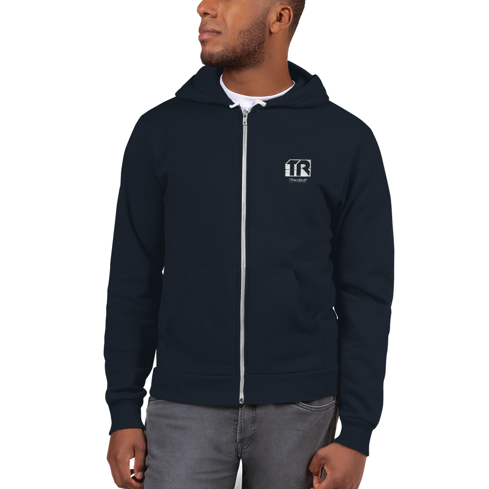 Transmit Zip-Up Hoodie - BeExtra! Apparel & More
