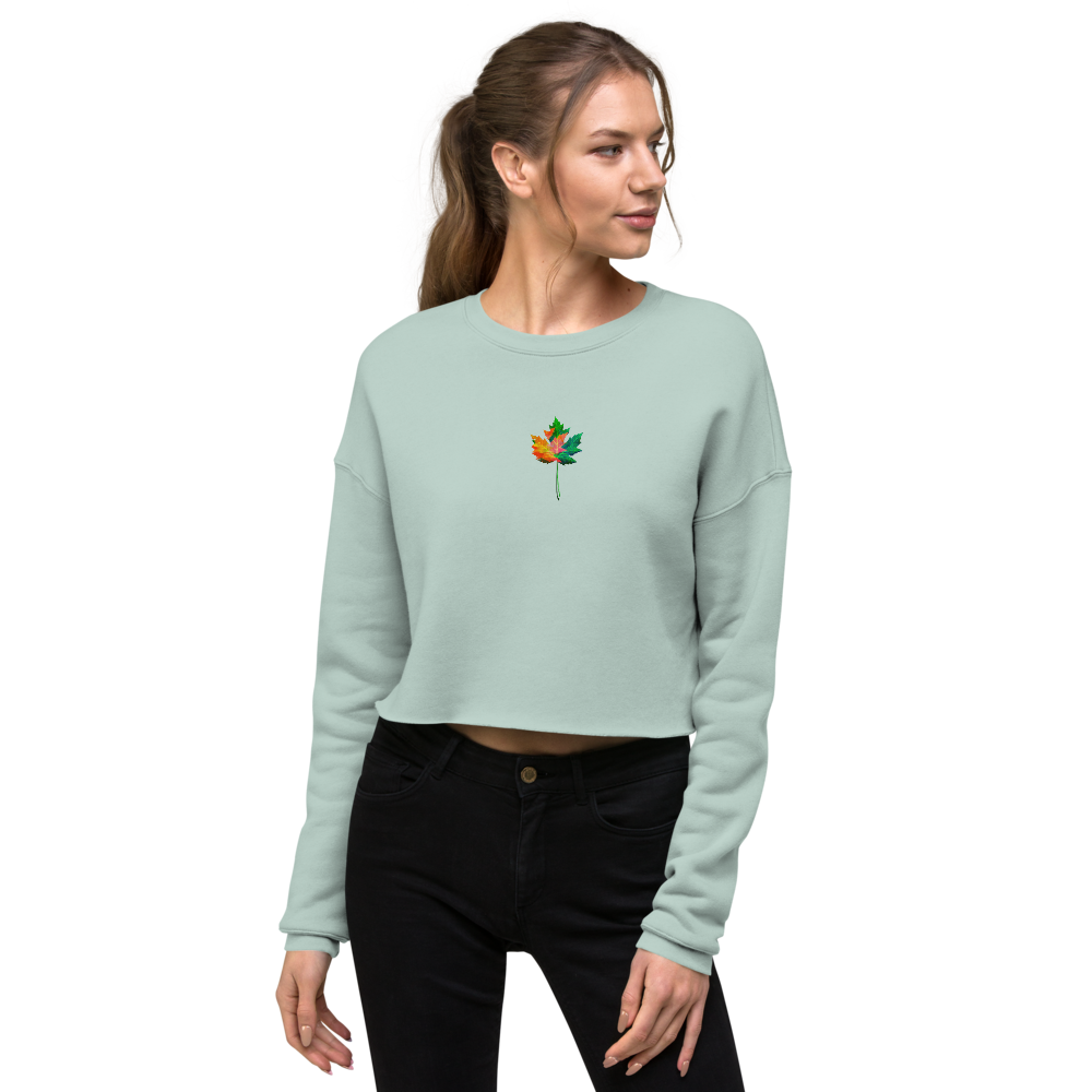 Be Extra Fall Crop Sweatshirt