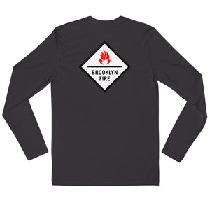 Brooklyn Fire - Great Music Zero Boundaries - Long Sleeve T-shirt
