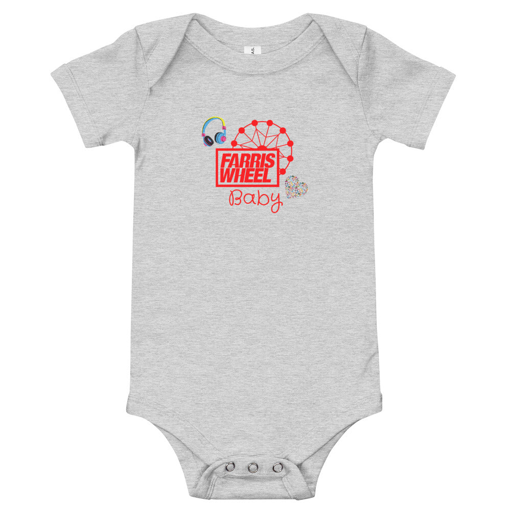 Farris Wheel Baby Bodysuit - BeExtra! Apparel & More