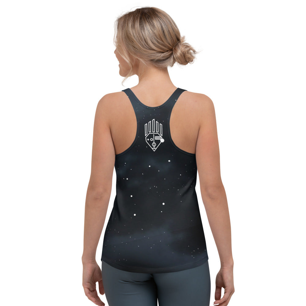 Night Sky Women's Racerback Tank - BeExtra! Apparel & More