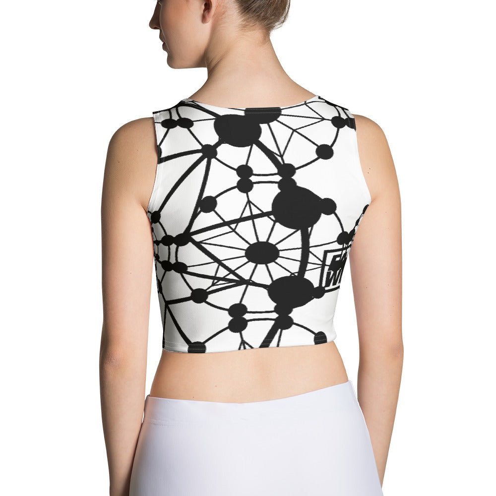 Farris Wheel All Over Print Crop Top - BeExtra! Apparel & More