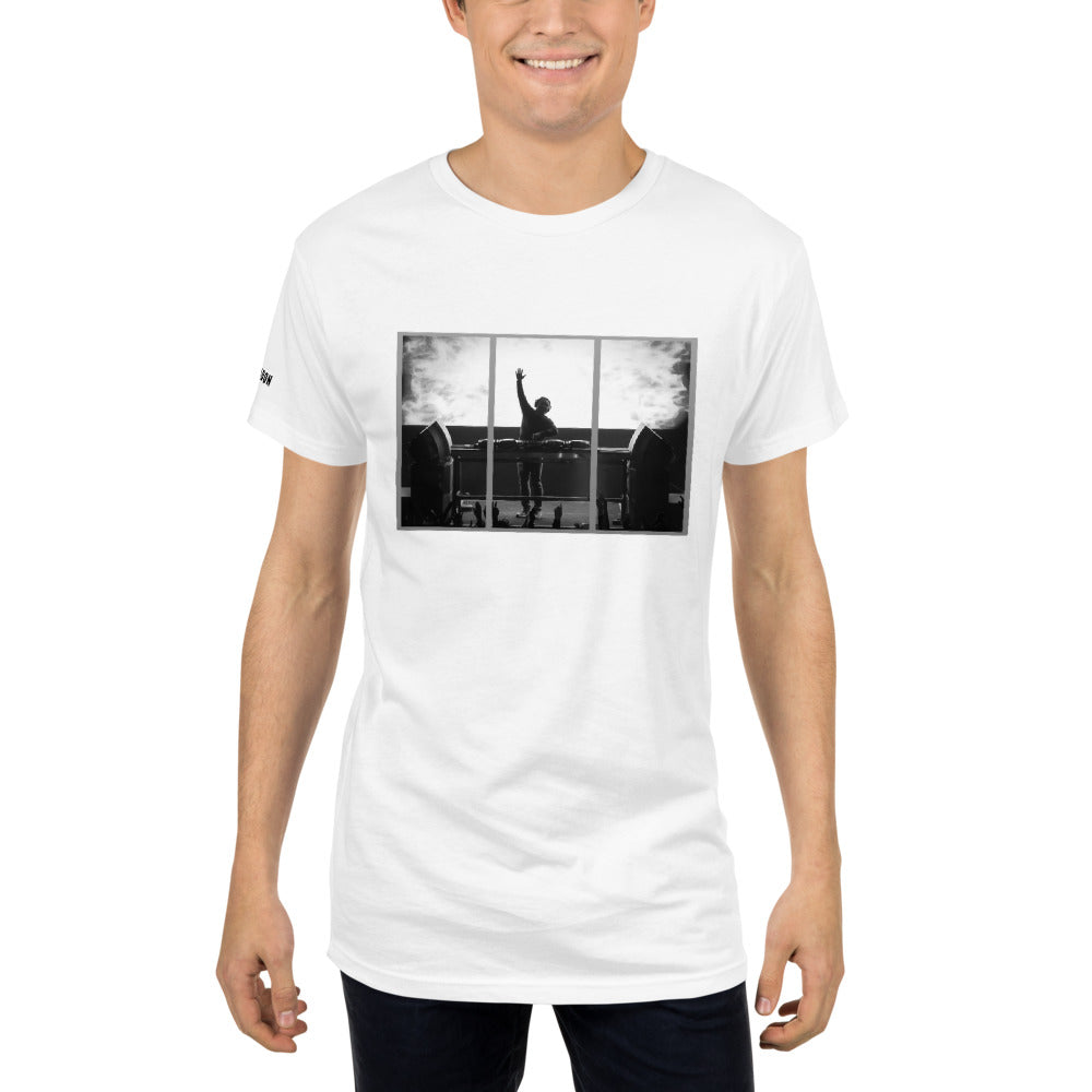 Tony Arzadon Men's Long Body Urban Tee - BeExtra! Apparel & More