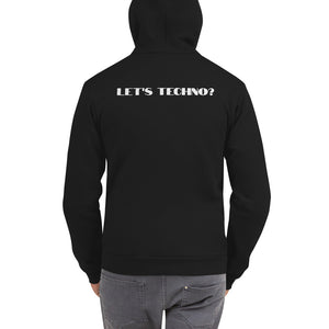 Let's Techno Unisex  Hoodie - BeExtra! Apparel & More