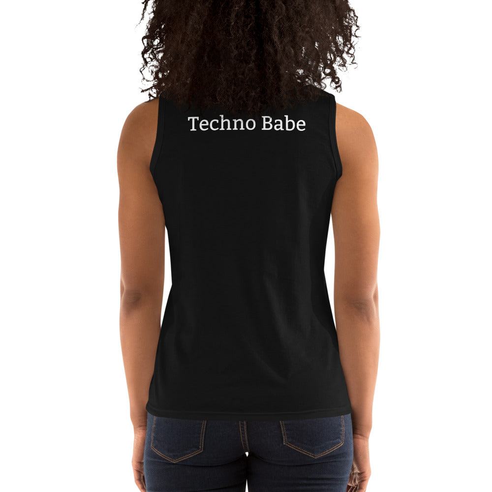 Techno Babe - Ladies' Tank - BeExtra! Apparel & More