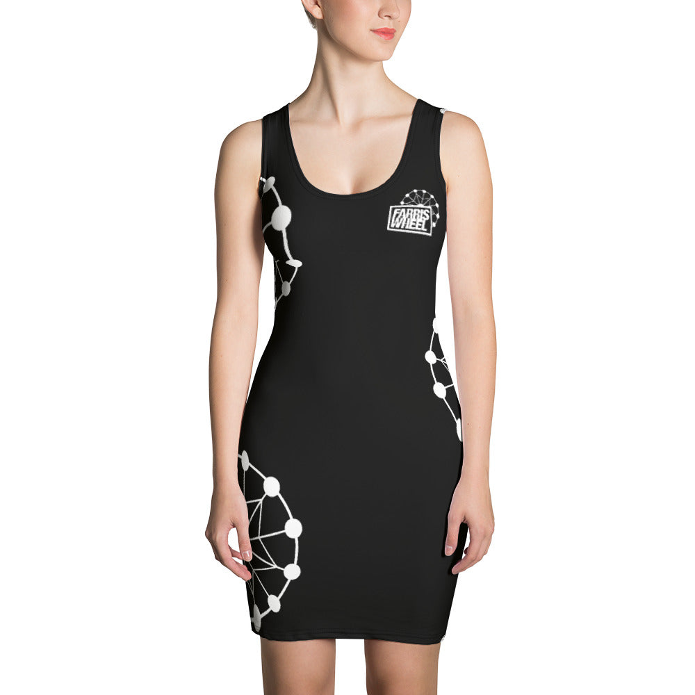 Farris Wheel Black Sexy Dress - BeExtra! Apparel & More