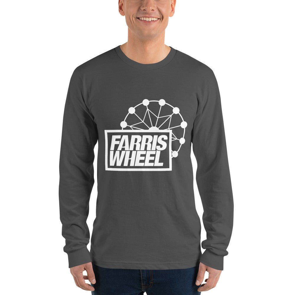 Farris Wheel Long Sleeve T-shirt - BeExtra! Apparel & More