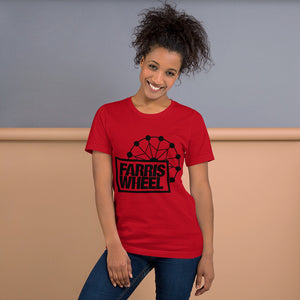 Farris Wheel Short-Sleeve Unisex T-Shirt - BeExtra! Apparel & More