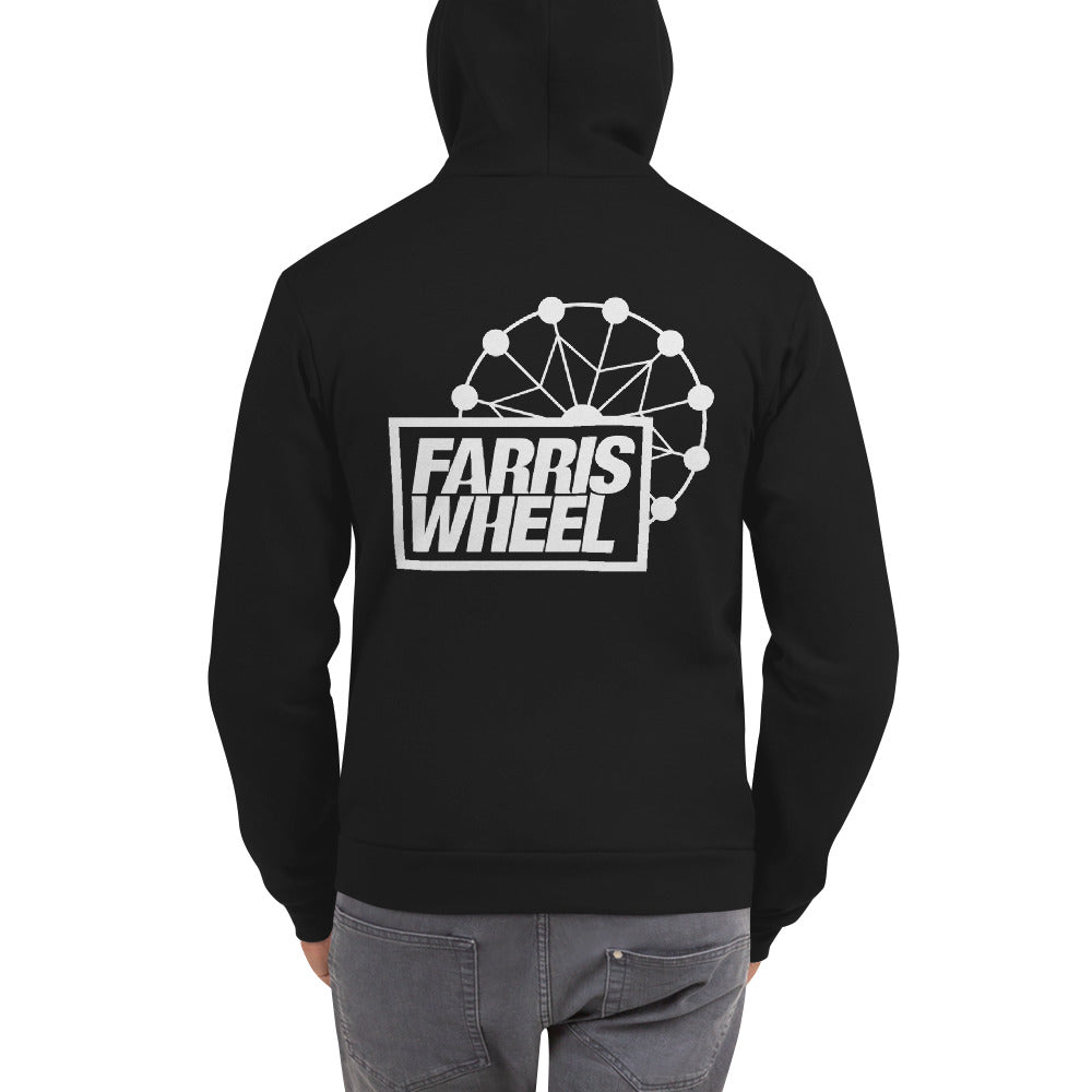 Farris Wheel Unisex Zip-up Hoodie - BeExtra! Apparel & More