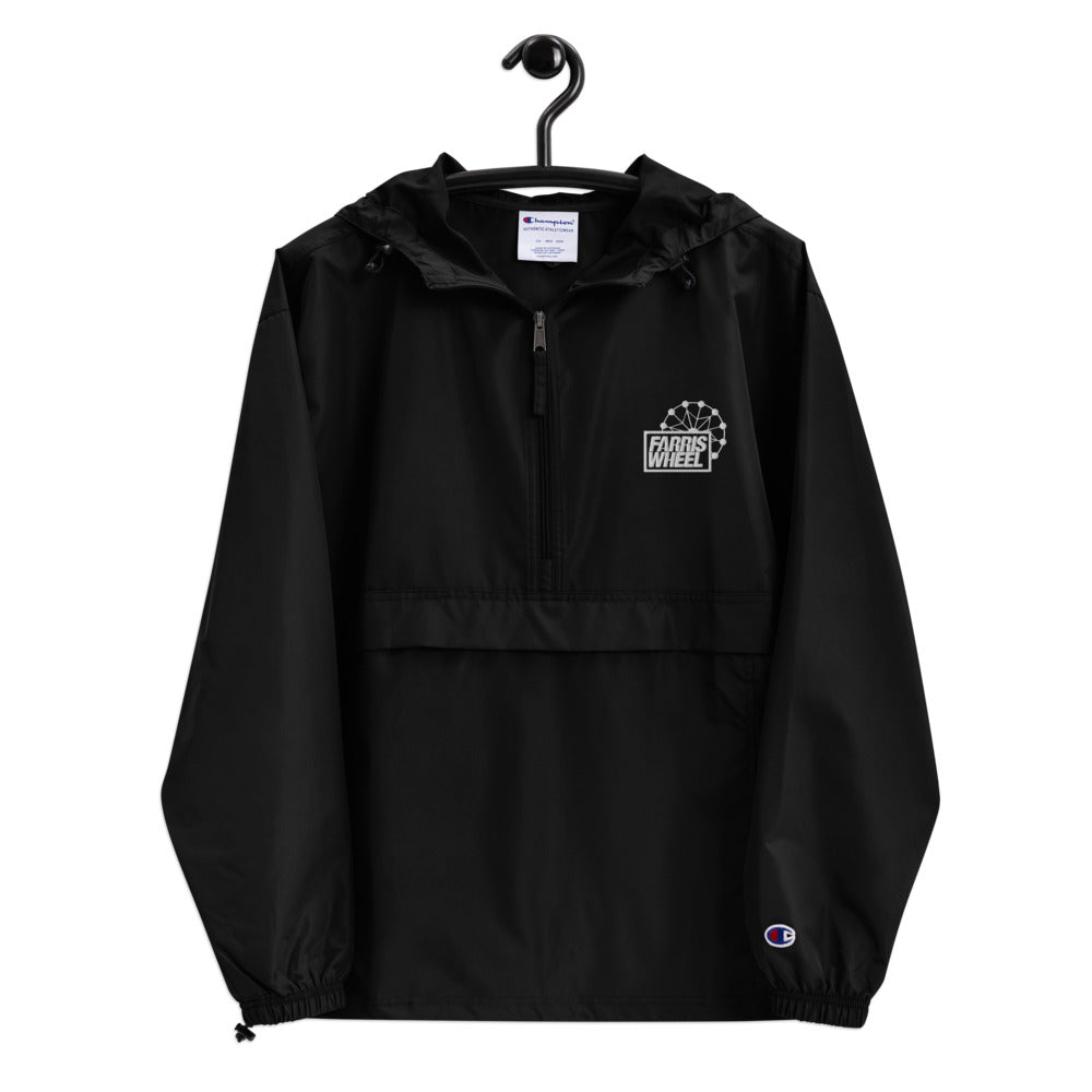 Farris Wheel Embroidered Champion Packable Jacket
