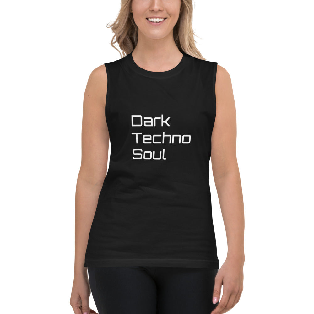 Dark Techno Soul  - Unisex  Muscle Shirt - BeExtra! Apparel & More