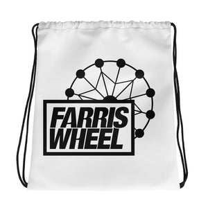 Farris Wheel Drawstring bag - BeExtra! Apparel & More