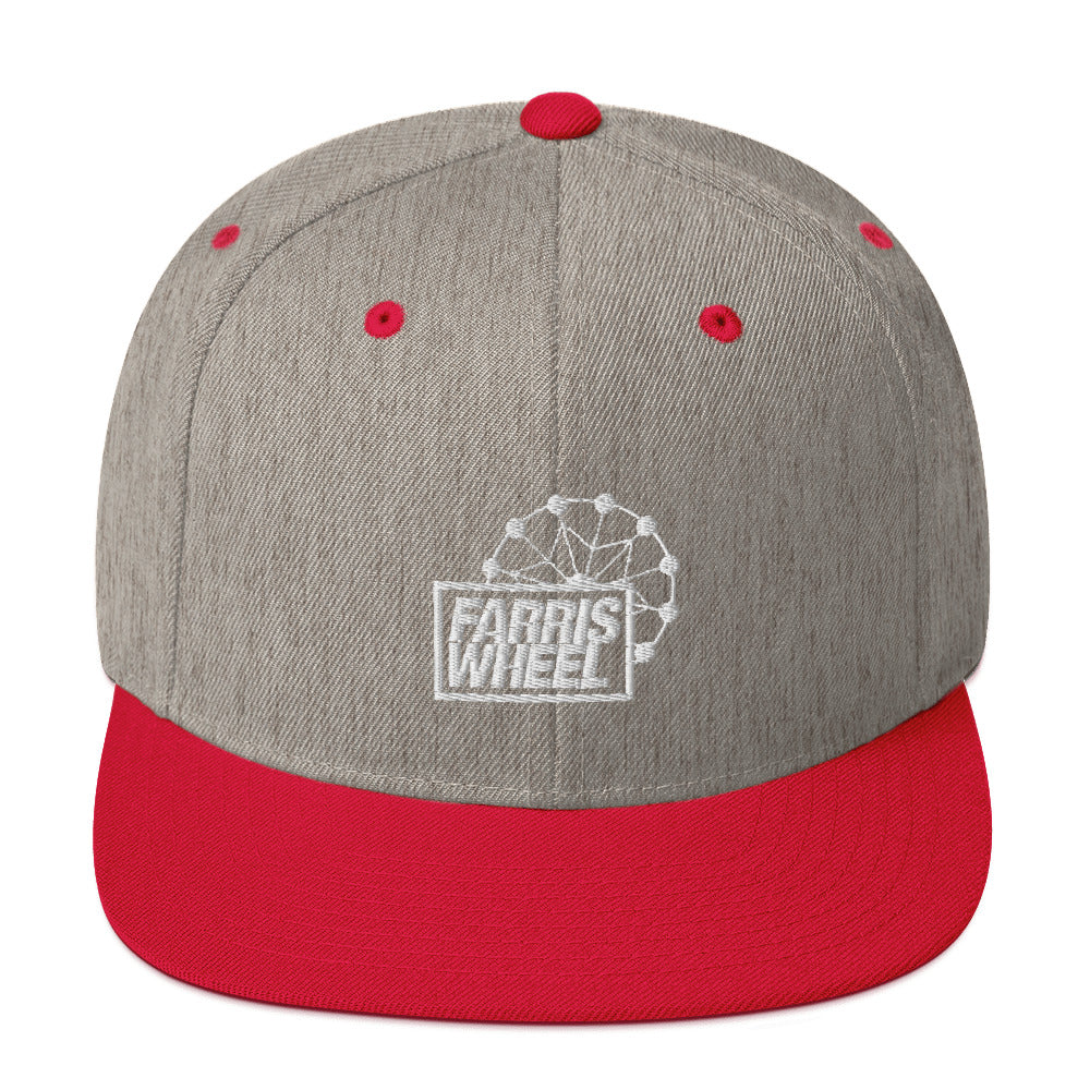 Farris Wheel Snapback Hat - BeExtra! Apparel & More