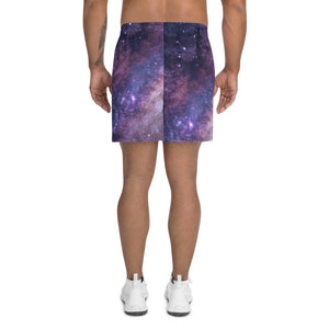 Space Print Men's Athletic  Shorts, Summer trends, Men's Apparel