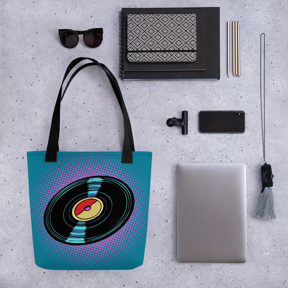 Vinyl Love Tote bag - BeExtra! Apparel & More