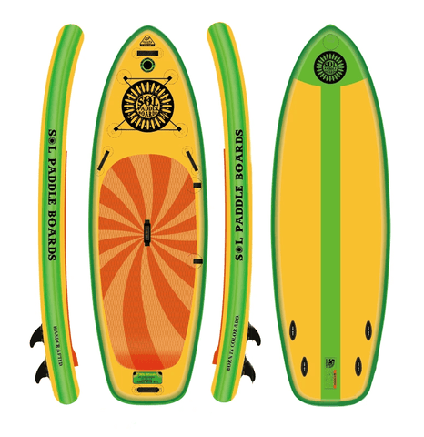 SOLatomic Inflatable Paddle Board - GalaXy