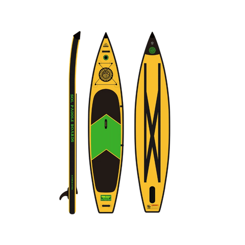SOLsonic Inflatable Paddle Board top bottom side view