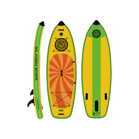 SOLstout Inflatable Paddle Board - Classic