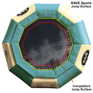 Bouncer - Rave Sports Aqua Jump 200 Northwoods Water Trampoline 00201