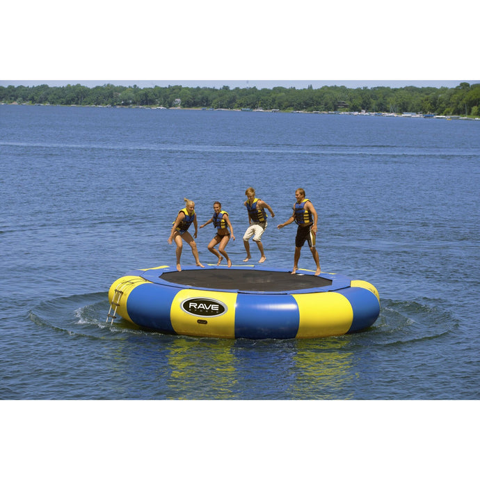 Bouncer - Rave Sports Aqua Jump Eclipse Water Trampoline