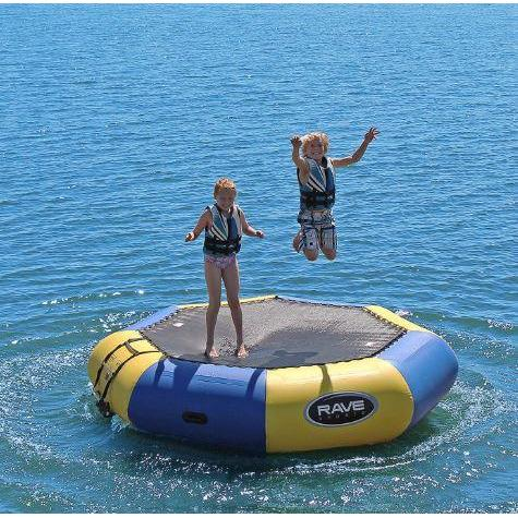Bouncer - Rave Sports Bongo Bouncer 10 - 10' Springless Water Bouncer 02011