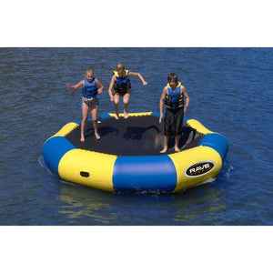 Bouncer - Rave Sports Bongo Bouncer 13 - 13' Springless Water Bouncer 02008