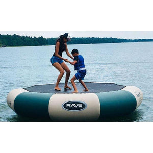Bouncer - Rave Sports Bongo Northwood's Water Bouncers Spingless Trampolines