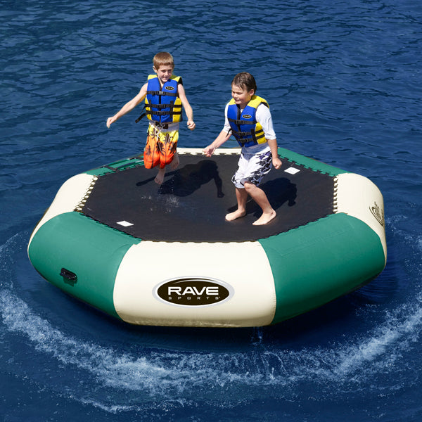 Bouncer - Rave Sports Nothwoods' Bongo Bouncer 13 - 13' Springless Water Bouncer 2236