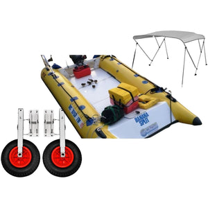 Inflatable Fishing Boat - Dux Boats Universal Dive UD-550 Inflatable Raft