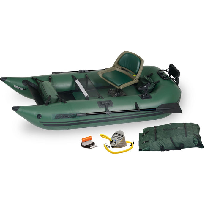 Inflatable Fishing Boat - Sea Eagle 285 Frameless Pontoon Inflatable Fishing Boat