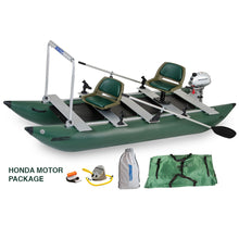 Load image into Gallery viewer, Inflatable Fishing Boat - Sea Eagle 375fc Foldcat Elite Motor Inflatable Fishing Boat