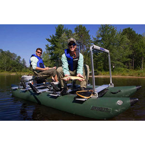 Inflatable Fishing Boat - Sea Eagle 375fc Foldcat Elite Motor Inflatable Fishing Boat