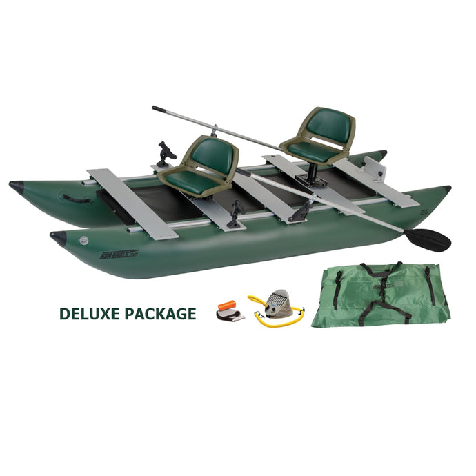 Inflatable Fishing Boat - Sea Eagle 375fc Foldcat Inflatable Fishing Boat