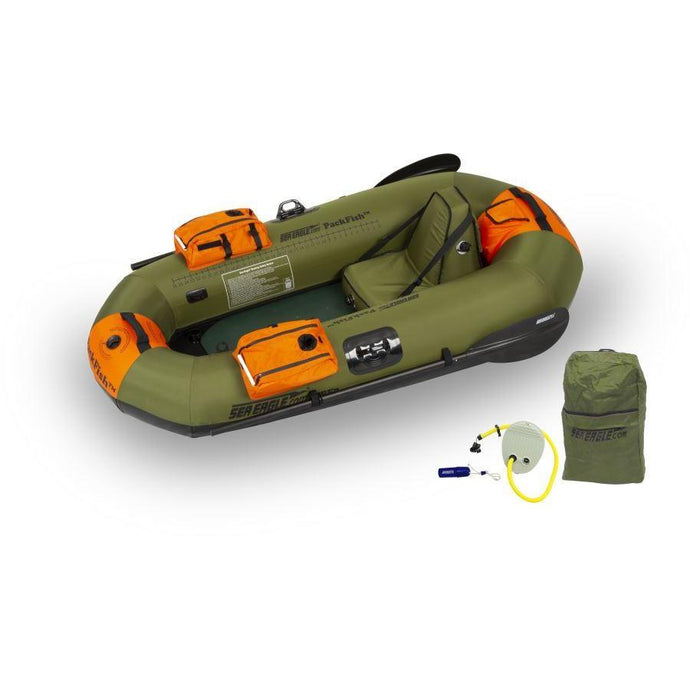 Inflatable Fishing Boat - Sea Eagle PackFish7™ Inflatable Fishing Boat