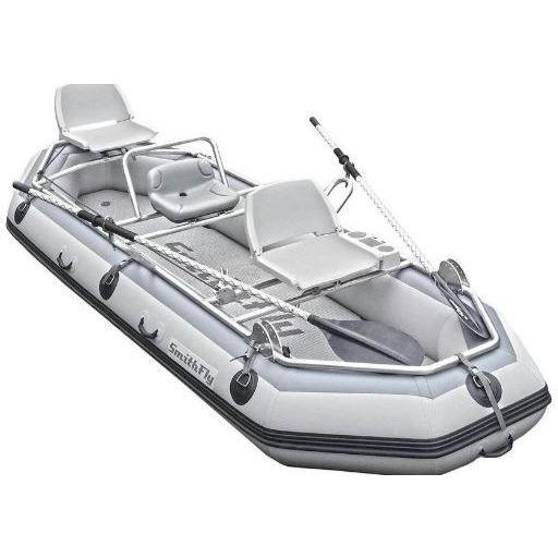 Inflatable Fishing Boat - SmithFly Big Shoals Fishing Raft