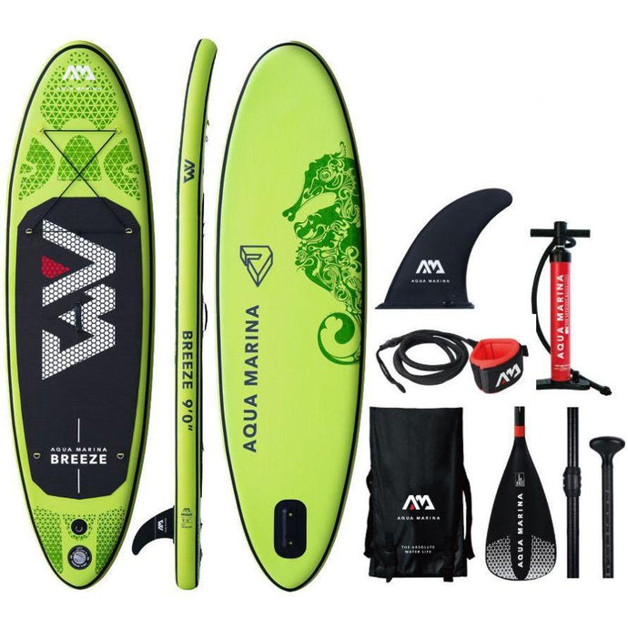 Inflatable Paddle Board - Aqua Marina 2019 Breeze 9' Inflatable Paddle Board ISUP BT-19BRP