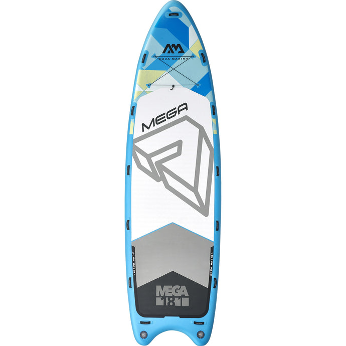 Inflatable Paddle Board - Aqua Marina 2020 Mega 18' Group Inflatable Stand Up Paddle Board ISUP BT-20ME