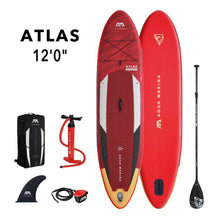 "Load image into Gallery viewer, Inflatable Paddle Board - Aqua Marina 2021 Atlas 12'0"" Inflatable Paddle Board ISUP BT-21ATP Ships In FEBRUARY"