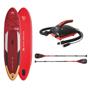 "Inflatable Paddle Board - Aqua Marina 2021 Atlas 12'0"" Inflatable Paddle Board ISUP BT-21ATP Ships In FEBRUARY"