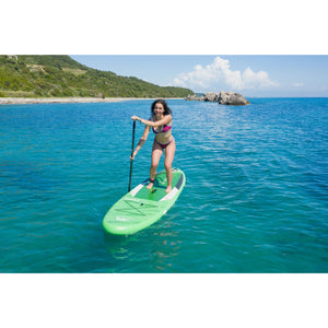 "Inflatable Paddle Board - Aqua Marina 2021 Breeze 9'10"" Inflatable Paddle Board ISUP BT-21BRP"