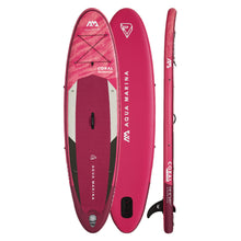 "Load image into Gallery viewer, Inflatable Paddle Board - Aqua Marina 2021 Coral 10'2"" Inflatable Paddle Board ISUP BT-21COP"